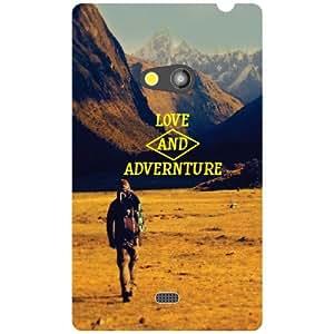 Nokia Lumia 625 Back cover (Printland)
