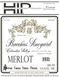 2013 House of Independent Producers HIP Merlot 750ml