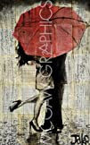 The Red Umbrella By Loui Jover Art Pr…