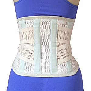 つらい腰を強力サポート AIRLIFT 腰椎固定ベルト 腰用ハードコルセット Mサイズ 男女兼用
