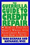 51P3MR20SPL. SL160  The Guerrilla Guide to Credit Repair: How to Find out Whats Wrong with Your Credit Rating and How to Fix It