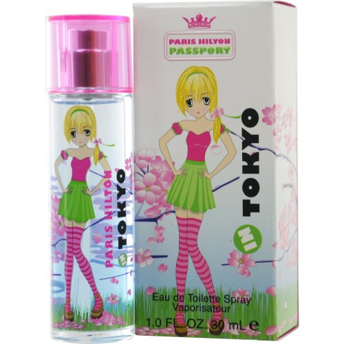 Paris Hilton, Eau de Toilette spray con vaporizzatore, Passport in Tokyo, 30 ml