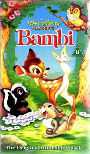 Bambi [Disney 1942] [VHS]