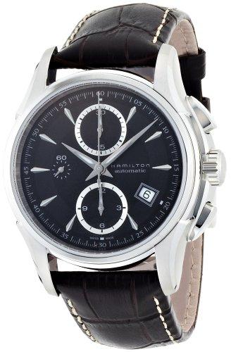 Hamilton Men's H32616533 Jazzmaster Black Dial Watch