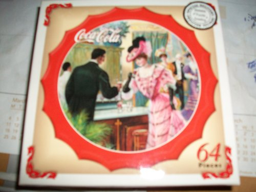 Coca-Cola Bottle Cap 64-pc Drink Coca-Cola Puzzle