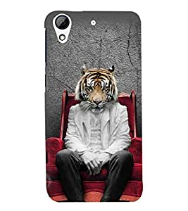 printtech Tiger Back Case Cover for HTC Desire 626