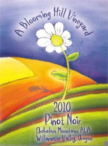 2010 A Blooming Hill Vineyard Pinot Noir 750 Ml