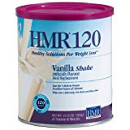 HMR 120 Weight-Loss Shake Mix, Vanilla, Canister of 12 servings (Hmr Shake Mix compare prices)