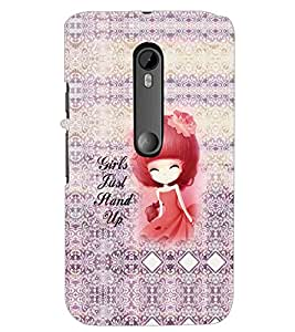 PrintDhaba Quote D-5760 Back Case Cover for MOTOROLA MOTO G3 (Multi-Coloured)