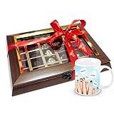Chocholik Luxury Chocolates - Royal Assorted Pralines Chocolates Gift Box With Friendship Mug