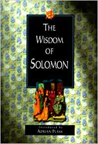 Book of solomon wisdom