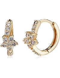 Sia Art Jewellery Clip On Earrings For Women (Golden) (AZ3525)