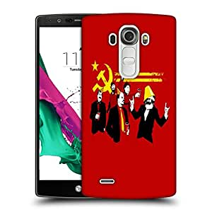 Snoogg Red Party Designer Protective Back Case Cover For LG G4