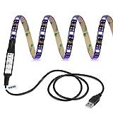 Ldex LED-TV-Hintergrundbeleuchtung 100cm 5V RGB wasserdichte Leuchten geeignet für Fernsehgeräte , Desktop-Computer, Fischbehälter , Autodekoration . (Lebenslange Garantie)