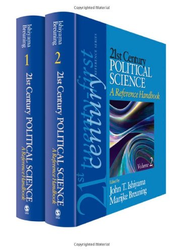 cover of 21st Century Political Science: A Reference Handbook
