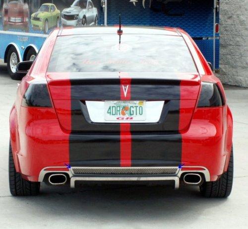 American Car Craft Pontiac G8 2008 2009 / GT Mesh Rear Valance Diffuser Grille Bumper Insert