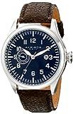 Akribos XXIV Men's AK785BU Analog Display Swiss Quartz Brown Watch