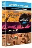 Image de Coffret 3 Blu-ray 3D - Voyages & découvertes