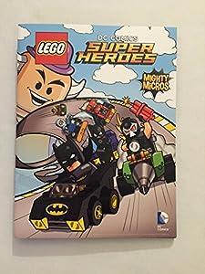 LEGO DC Comics Super Heroes Comic Book with Folded Poster BATMAN SDCC 2016 Joker Harley Quinn