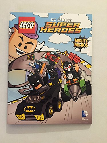 LEGO DC Comics Super Heroes Comic Book with Folded Poster BATMAN SDCC 2016 Joker Harley Quinn
