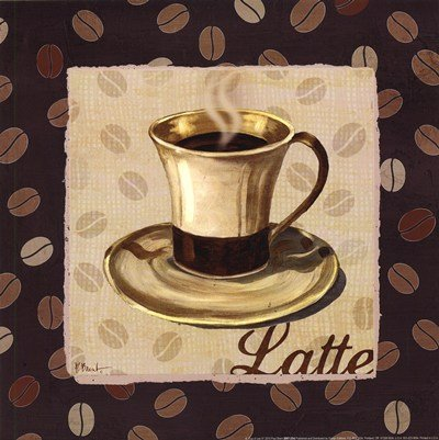 Cup of Joe III by Paul Brent - 12x12 Inches - Art Print Poster