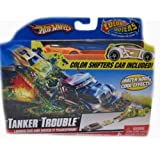 Hot Wheels Color Shifters Tanker Trouble Playset