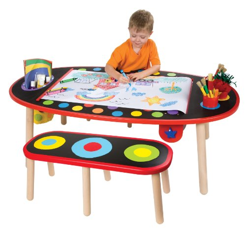 ALEX Toys Artist Studio Super Art Table with Paper Roll (Paint Table For Kids compare prices)