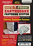 Safe T Proof Earthquake Fastening System Tabletop Equipment Fastener Putty