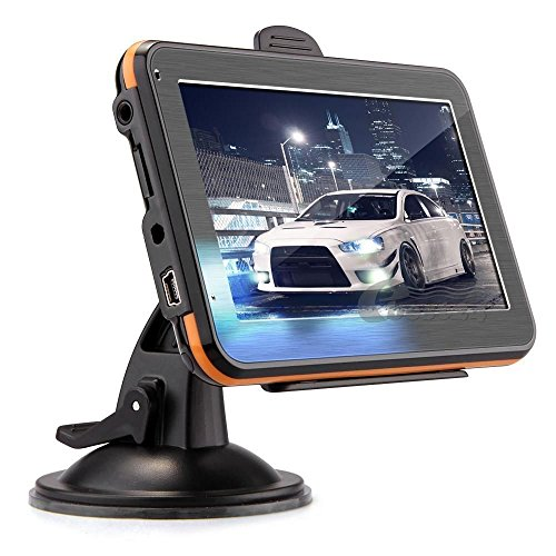 GPS 4.3″ Sat Nav Touch Screen Navigator 4GB With Europe Maps