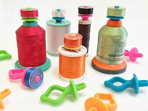 Big Save! BOBBINI 'Universal Bobbin Holders' 12 pcs