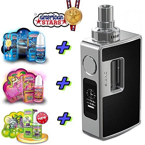 XXL Starterkit Geschenk Set Joyetech eVic AIO E-Zigarette Elektro Zigarette Komplettset mit American Stars Liquid ohne Nikotin
