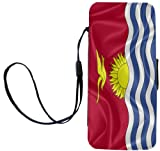 Rikki KnightTM Kiribati Flag iPhone Apple 5c PU Leather Wallet Type Flip Case with Magnetic Flap and Wristlet for Apple iPhone 5c Reviews