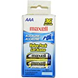 Maxell - Alkaline Batteries (AAA; 36 Pack; Box) Case Pack 6