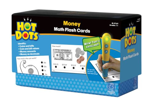 Educational Insights Hot Dots Money Flash Cards - 1
