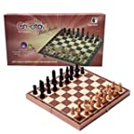 Chess Board Set, Deluxe Folding Tourn...