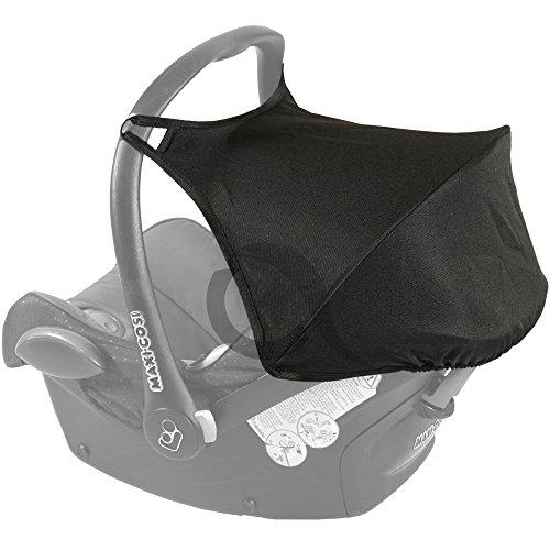 HOOD SUNSHADE CANOPY fits MAXI COSI CABRIOFIX car seat New WATERPROOF (black)