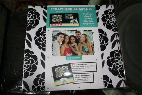 Tapestry by CR Gibson Any Occasion Edition Complete Scrapbook Kit, 12 by 12-Inch 16 Designed Pages