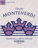 img - for Vespers (1610): Performing score (Classic Choral Works) book / textbook / text book
