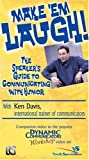 echange, troc Make 'em Laugh: The Speaker's Guide to Communicating with Humor [VHS] [Import anglais]