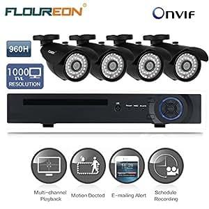Floureon H.264 8CH 1080P HDMI Onvif DVR