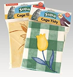 Supa Cage Tidies Bird Cage Floor Cover Extra Large
