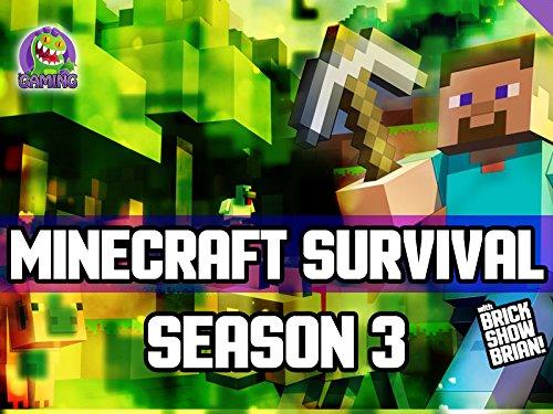 Clip: Minecraft Survival with Brick Show Brian! - Season 3