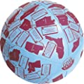 "American Educational Vinyl Clever Catch States and Capitals Ball, 24"" Diameter"