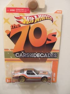 Hot Wheels The 70's Cars of the DECADES Hot Bird (Silver) (Collectible) (Toy)