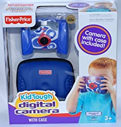 Fisher M5013 Price Kid Tough Digital Camera with Case - Blue