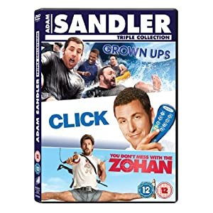 Adam Sandler Box Set: Click/Grown Ups/You Don't Mess With the Zohan (3 DVDs) (Version UK)