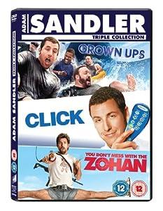 Adam Sandler Box Set: Click/Grown Ups/You Don't Mess With the Zohan [DVD] [2011]