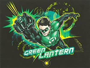 Green Lantern Cake Decorating Kit : Amazon.com: Green Lantern Flying Punch ~ Edible Image Cake ...
