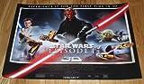 Star Wars Episode 1 The Phantom Menace 3D cinema poster