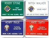 Knights of Columbus Name Badge